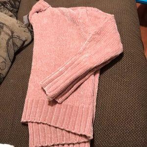 Cynthia Rowley | Velour Turtleneck  Sweater